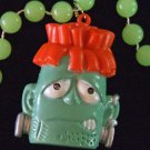 Halloween Flashing Frankenstein Light Noise Mardi Gras New Orleans Party Beads
