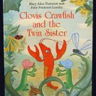 Clovis Crawfish and the Twin Sister Hardcover New Orleans Louisianna