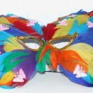 Rainbow Butterfly Princess HALLOWEEN Party Mask Party