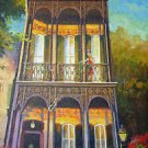New Orleans Shotgun Throw Me Something House Baltas Giclee Canvas Art Print