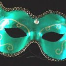 Green Hornet Men's Woman Lady Sexy Mardi Gra Ball Mask