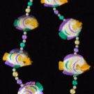 TROPICAL FISH Bright Shiney Mardi Gras Beads Party