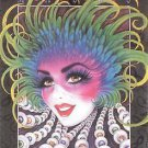 Mistretta 1997 Masks Mardi Gras Art Print New Orleans Famous New Orleans
