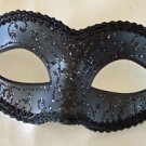 Gothic Black Venetian Eye Mask Mardi Gras Prom Halloween Costume Party
