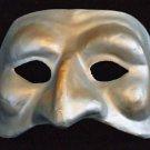 Magician Magic Venetian Mask Mardi Gras Blue & Gold