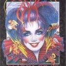 Andrea Mistretta Mardi Gras Art 1999 Band of Angels Vintage New Orleans Rare