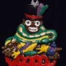 Voodoo Doctor Priest New Orleans Mardi Gras Bead Snake Bayou Charm Magic Snake