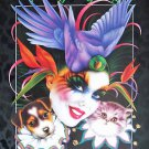 Mistretta Mardi Gras 1998 Menagerie Art New Orleans Signed by Artist Rare Print