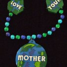 LOVE YOUR MOTHER EARTH New Orleans Mardi Gras Beads