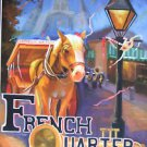 Horn & Horse New Orleans Baltas Matted Art Print French Quarter Mardi Gras