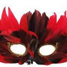 Venetian Feather Mask YOUR CHOICE COLOR Mardi Gras Sexy Prom Costume Party