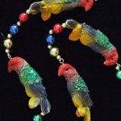 Parrots Laua Party Mardi Gras Beads New Olreans Party