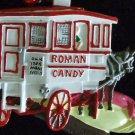 ROMAN CANDY HORSE DRAWN VENDOR Mardi Gras Bead ORLEANS