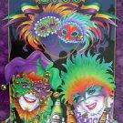 Andrea Mistretta Mardi Gras Art Print 2000 Heineken New Orleans Rare Collectors