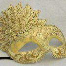 Venetian Half Leaf Mask YOUR CHOICE COLOR Mardi Gras Costume New Orleans Party