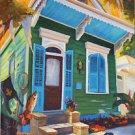 New Orleans Shotgun House Cajun Sportsman Baltas Giclee Canvas Art Print