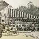 Cafe Dumonde Don Davey New Orleans Matted Art Print Famous French Quarter 1997