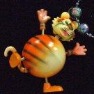 Bobble Head TIGER Mardi Gras Beads Moves Animated Fun