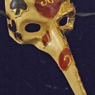 Venetian Mask Masquerade Drama Mens JOKERS WILD Costume