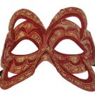 Venetian Mask Belgium Color YOUR CHOICE COLOR Mardi Gras Prom Costume Party