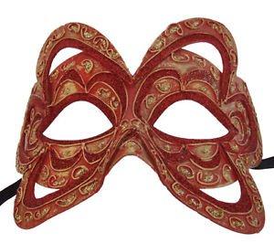 Venetian Mask Belgium Color YOUR CHOICE COLOR Mardi Gras Prom Costume Party