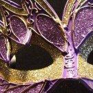 STARFIRE Venetian Masquerade Mardi Gras PURPLE GOLD
