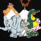 Zoo Animals Necklace Medallion Bead New Orleans Fun