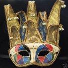 Jester Mask Premium Mardi Gras Mask Venetian Limited
