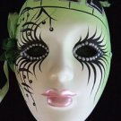 Wall Art Jester Lady Mask Piano Keys Your Color Choice New Orleans Mardi Gras