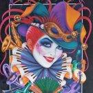 Andrea Mistretta Mardi Gras Art 1996 Music New Orleans French Quarter Rare