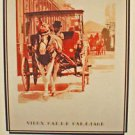 Vieux Carre Carriage New Orleans Art Print by Bergen