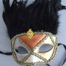 Venetian Mask Domino Papier Mache' Art Party Mardi Gras