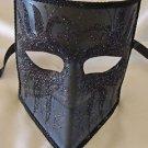 Venetian Mask Bauta Black Swan Mardi Gras Halloween Costume Party Italy Drama