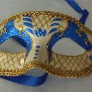 Glitter Eye Mask YOUR CHOICE COLOR Mardi Gras New Orleans Costume Party
