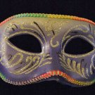 Venetian Eye Mask Glitter Purple Halloween Masquerade