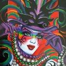Mistretta 2012 Illusion Signed by Famous Artist #116 Mardi Gras Art New Orleans