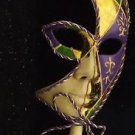 Venetian Stick Mask YOUR CHOICE COLOR Mardi Gras Costume Prom Party PGG