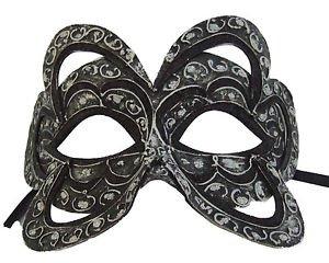 Venetian Mask Belgium Black YOUR CHOICE COLOR Mardi Gras Prom Costume Party