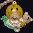 Baby Shower Annoucement Mardi Gras Bead Necklace YOUR CHOICE New Orleans Beads