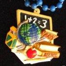 School Days Globe Chalk Mardi Gras Beads New Orleans