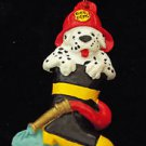 Fireman Dalmation Dog Mardi Gras Bead Necklace Fire Man Hydrant Boots Hose