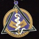 DENTISTRY Emblem Dentist Tooth Teeth Mardi Gras Bead Necklace Care Medallion