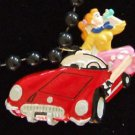 1954 Cadillac Poodle Skirt New Orleans Mardi Gras Beads