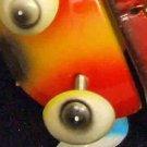 Bobble Head Lady Bug Mardi Gras Beads Moves Animated