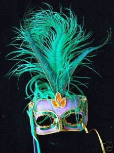 Green Witch Sequin Masquerade Mardi Gras Party Sequin