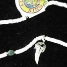Alligator Tooth and Shell Necklace Swamp People Gator Special Edition Bayou 29