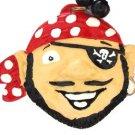 Smiling Pirate Mardi Gras Bead Necklace Cajun Carnival Festival New Orleans Bead