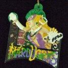 MASKED LADY BALCONY Throws Mardi Gras Necklace Beads