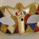Bright Eye Venetian Mask YOUR CHOICE COLOR Mardi Gras Costume New Orleans Party