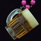 Beer Mug Frothy Mardi Gras Bead Necklace YOUR CHOICE STYLE New Orleans Beads